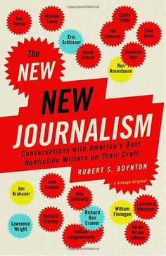 The New New Journalism book.