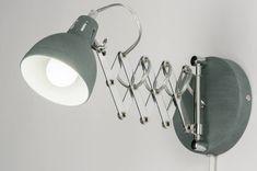 Wandlamp 11514: modern, retro, industrie, look #0