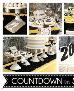 New Year's Eve Party  {Jenny Dixon of Crossing the Bugger-Dixon Line}