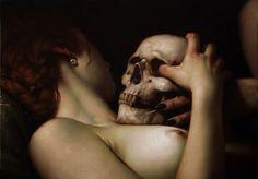 "Roberto Ferri ""Vanitas"" olio su tela 50x70 2014"