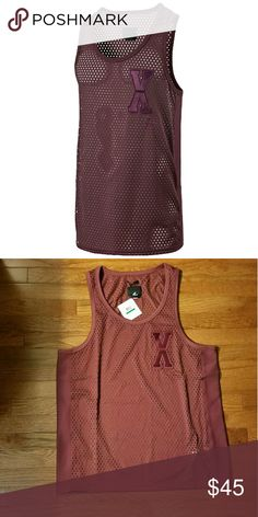 NWT Puma x Vashtie Tank Top Large Brand new with tags puma and vashtie collab tank top. Men's size large but it's a very unisex piece. Burgundy in color. Puma Shirts Tank Tops