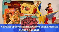 New Line Of Toys featuring Disney's Latina Princess ELENA OF AVALOR! #DisneyConsumerProducts Disney Disney Junior DisneySide @Home Event nyc Walt Disney