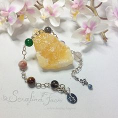 We all know the jitters we get when we have exams coming up, being on stage for an audition, or having to give a speech in front of a room full of people.   Whenever you need to keep a cool head this Chakra Bracelet can be your best friend. It has stones selected which will keep you grounded and stay calm and focused when you need it most.