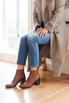 Introducing Our Heeled Chelsea Boot in Saddle – Rip & Tan Street Style Looks, Clothing Co, Me Too Shoes, Must Haves, Chelsea Boots, Clogs, Elegant, My Style, Casual