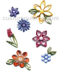 Nothing but Flowers Quilling Kit  www.customquilling.com