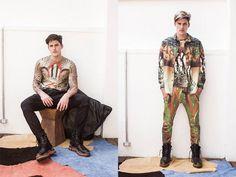 A coleção tem a cara da estilista: são peças bem estampadas, que tiveram inspiração nas montanhas dos Andes