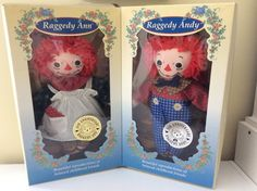 Raggedy Ann and Andy Love by Shannon on Etsy
