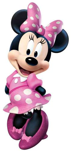 Minnie Mouse .