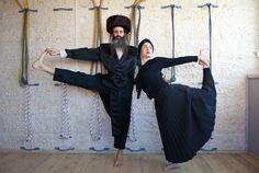 Йога для ортодоксальных евреев / Религия / Мир в фотографиях день за днем
