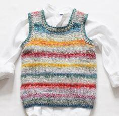 Knitting For Kids, Easy Knitting, Knitting Projects, Baby Sweater Knitting Pattern, Baby Knitting Patterns, Crochet Woman, Knit Crochet, Maxi Dress Summer, Crochet Lingerie