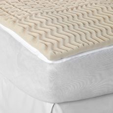 Sleep Zone 5-Zone Extra Long Twin Mattress Topper...only $20, but worth it to make my future bed more comfortable :/