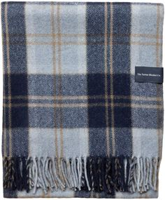 "Amazon.com: The Tartan Blanket Co. Recycled Wool Blanket Buchanan Antique Tartan (59"" x 75""): Kitchen & Dining Living Room Throws, Woolen Mills, Mixed Fiber, Wool Blanket, Boy Room, Tartan, Wool Blend, Recycling, Weaving"