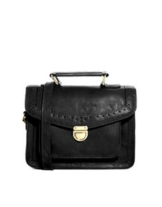 Image 1 of ASOS Punchout Satchel