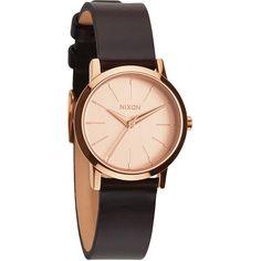 Nixon Damen-Armbanduhr XS Kenzi Analog Quarz Leder A3981890-00: Amazon.de: Uhren
