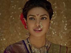 """Interacting with the reporters through video conference in Mumbai, Priyanka Chopra said: """"Bajirao Mastani film is based on a book called Rau and that is the author's version of what happened in Bajirao and Mastani's love story. So look at it as a beautiful rendition, an epic saga told from the vision of the director"""""""