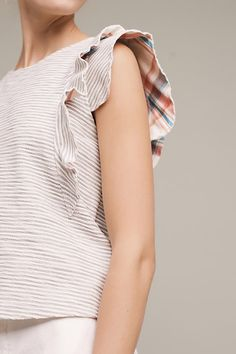 Shop the Flutterwork Tee and more Anthropologie Diva Fashion, Womens Fashion, Fashion Design, Fashion Trends, Style Outfits, Fashion Outfits, Vogue, Cool Style, My Style