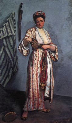 """""""Mauresque"""" - 1869 - Frederic Bazille (french painter)"""