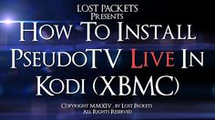 See how to install and configure PseudoTV Live, an add-on (plugin) for Kodi (XBMC) that lets you set your home theater up with your own TV channels. Your Kodi installation then looks and acts just like regular cable TV, also giving you access to hundreds of new channels to watch.