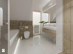 Dom 120 m2 pod Krakowem - Łazienka, styl nowoczesny - zdjęcie od INNers - Katarzyna Cybula