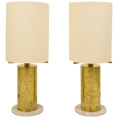 Pair Of 1960 Table Lamps, France | From a unique collection of antique and modern table lamps at http://www.1stdibs.com/furniture/lighting/table-lamps/