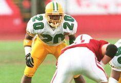 Oregon cornerback Kenny Wheaton 1994.