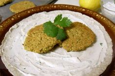 Chickpea Burgers with Yogurt Tahini Sauce by Cooking to Perfection