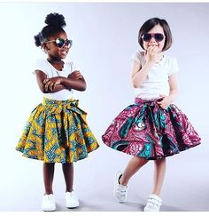 For all beautiful parents out here go order your kid's new African print outfit at from Paris all designed to suit your little girls and boys I'm already in love, can't wait to have kids so I can order ahah South African Dresses, African Dresses For Kids, African Children, African Wear, African Fashion Dresses, Little Girl Dresses, Girls Dresses, Nigerian Fashion, Ankara Styles For Kids