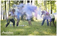 Awesome family photo shoot idea!  Powder Paint!!!  SO.  MUCH.  FUN.