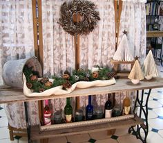*OldTimePickers* - decor and design from pickin cool finds: Barn Wood Farm Table