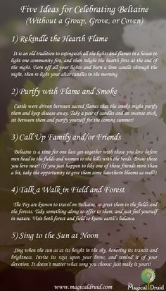 Five Ideas for Celebrating Beltane | Witches Of The Craft®