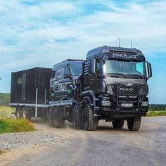 Show Trucks, Mack Trucks, Big Trucks, Kombi Motorhome, Truck Camper, Build A Camper Van, Benne, Overland Trailer, Adventure Campers