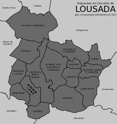 Freguesias do concelho de Lousada