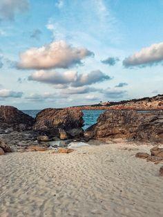 Formentera, Spagna.  colori pastello, oasi di tranquillità ed un paesaggio mozzafiato.