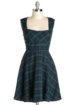 out of stock Cricket Matchmaker Dress, #ModCloth Not plus size, but would look awesome with high camel coloured boots, black tights and berry accessories for winter.