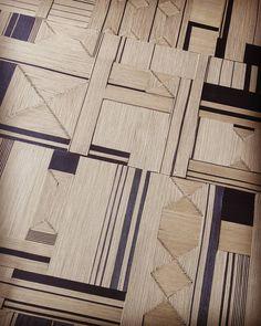 Paravent 4 feuilles (non encore monté)   Cordelettes de coton ciré, motif Full tressé, ton noir et naturel.    Atelier veronique de soultrait Tressage, marqueterie, panneautage de corde appliqué au design et à la décoration. www.veronique-de-soultrait.fr