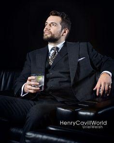 אוריאל וולשית (@urielwelsh) on Instagram: Henry Cavill photographed by Andy Fallon for Mini Clubman.