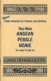 Two Hole Andean Pebble Weave by Linda Hendrickson