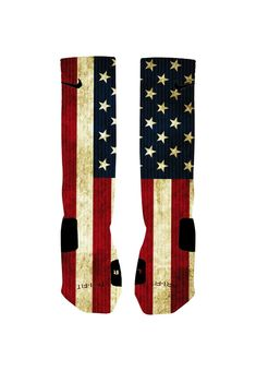 Hey, I found this really awesome Etsy listing at https://www.etsy.com/listing/196412499/custom-vintage-american-flag-socks