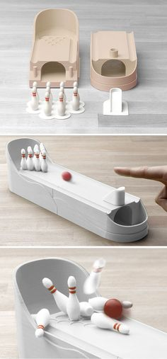 3D Printed Bowling by Matthijs Kok✖️No Pin Limits✖️More Pins Like This One At FOSTERGINGER @ Pinterest✖️ #3dprintingideas