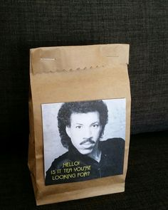 I think Lionel Richie should start a tea company. What do you think? :) (an herbal tea gift for a friend who loves tea)