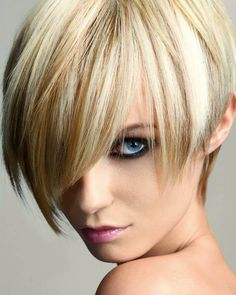 short hair platinum blonde with lowlights - Google Search