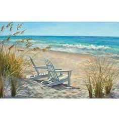 Beach Chairs - Print Gallery Palette