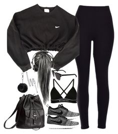 Cute Nike Outfits, Bad Girl Outfits, Cute Workout Outfits, Cute Lazy Outfits, Sporty Outfits, Athletic Outfits, Mode Outfits, Outfits For Teens, Stylish Outfits