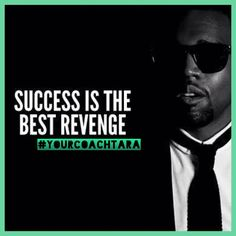 Success is the best revenge. People who see you're happy when they aren't might try to cut you down to their level. Ignore those haters and keep on keepin' on. Use their fire to fuel your rise even more! And know that they are only making theirselves look bad; you are the one with the stronger mind who can ignore all that bullshit and remain focused on what you need to do for yourself. That is what will make you successful.