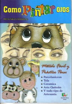 How to paint eyes, the complete magazine about 14 pages go and check the link Painted Books, Hand Painted, Debbie Brown, Web Gallery, Eye Painting, Clothespin Dolls, Online Painting, Clay Tutorials, Cold Porcelain