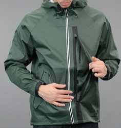 zips that give access to vest underneath #ActiveJackets