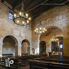 San Julián de los Prados. Oviedo. Prerrománico asturiano. #Camino #Santiago #Asturias