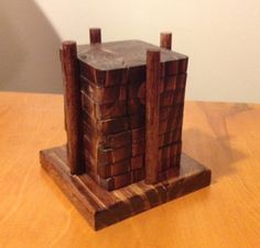 Handmade Reclaimed Wood Coasters