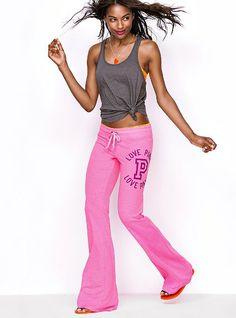 Fitted Flare Pant - Victoria's Secret Pink® - Victoria's Secret