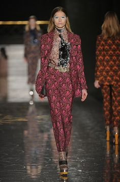 i am lovin miu mius autumn/winter 2012 collection.  mostly trouser suits, but im fine with that...they do it well.